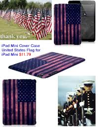 Memorial Day American Flag American Flag Ipad Mini Cover Case On Memorial Day Usa Flag Hard