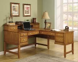 Office Desks Oak Delectable Oak Office Furniture For The Home Or Other Design