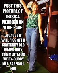 Jessica Meme - post this pic of jessica mendoza by bimmy meme center