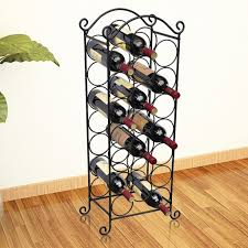chrome stainless steel wine rack