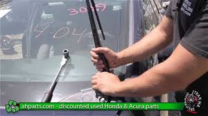 2003 honda civic windshield replacement how to replace change windshield wiper washer arm 2006 2007 2008