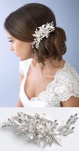 hair styles with rhinestones best 25 wedding side buns ideas on pinterest braided side buns