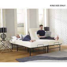 Decorative Metal Bed Frame Queen Premier Simple Adjustable Platform Bed Frame Multiple Sizes