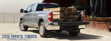 how much can a toyota tow how much can the 2016 toyota tundra tow