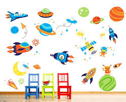 space wall stickers for kids home design great space wall stickers for kids