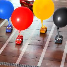 Balloon Challenge Cars 3 Blazing Balloon Challenge Disney Inspired