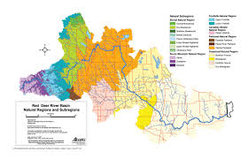 Map Alberta Canada by Maps Of The Red Deer River Watershed Rdrwa