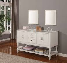 Double Sink Bathroom Vanity Decorating Ideas by Stunning Decorating Ideas Using Rectangular White Mirrors And