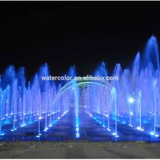 Lighted Water Fountains Outdoor by Led Lighted Outdoor Floor Water Fountain For City Plaza Buy Led