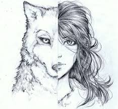 25 unique wolf drawings ideas on awesome drawings