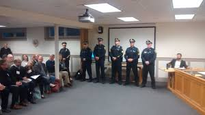 yarmouth police announce promotions introduce new officers