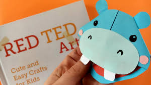 hippo bookmark red ted art u0027s blog