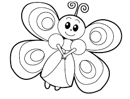 cartoon butterfly animal coloring pages free 443 printable