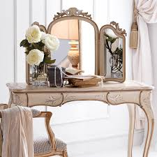 Bedroom Vanity Table With Mirror Bedroom Furniture White Gloss Dressing Table Mirror White