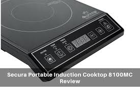 Portable Induction Cooktops Reviews Secura Portable Induction Cooktop 8100mc In Depth Review 2017