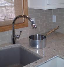 Faucets For Kitchen Sinks Single Faucet Placement For Undermount Sinks