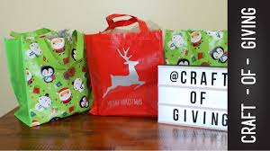 3 easy christmas donation ideas craft of giving youtube
