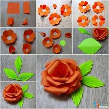 Handmade Flowers Paper - 105 best làm hoa giấy paper flower tutorials images on pinterest