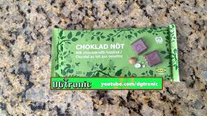 ikea milk chocolate with hazelnuts review youtube
