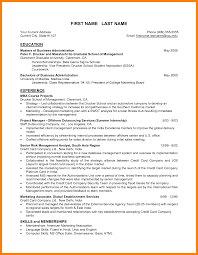 mba resume example best ideas of mba internship resume sample