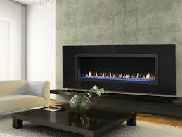 engaging home interior decoration with long gas fireplace u2013 free