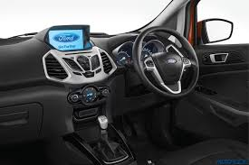 2017 ford ecosport titanium now available in india with 8 0 inch