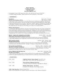 Server Job Description For Resume by Emt Job Description Resume Resume For Your Job Application