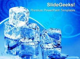 ice cubes lifestyle powerpoint templates and powerpoint