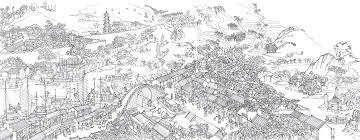 Suzhou China Map by Prosperous Suzhou U2013 Illustrated Maps
