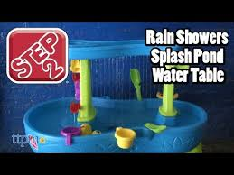 Step2 Duck Pond Water Table Rain Showers Splash Pond Water Table From Step2