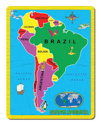 map usa jigsaw south america the continent puzzle jigsaw puzzle