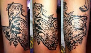 Dominican Republic Flag Tattoo Texas Fisht Tattoos On Both Arm