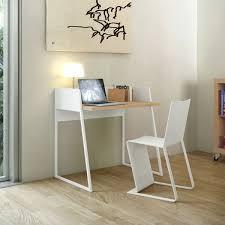bureau 60 cm temahome bureau design volga blanc chêne bureau temahome sur maginea