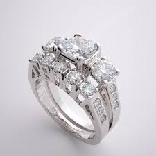 engagement and wedding ring set important accent engagement ring bridal wedding band set
