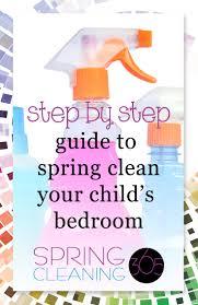 spring clean kid u0027s room checklist spring cleaning 365