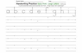 free handwriting worksheets for kids free worksheets library