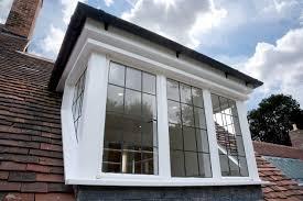 leaded single glazed sapele hardwood dormer window attic