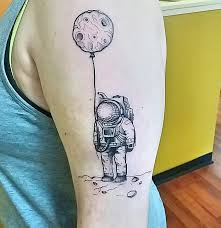 fun little astronaut piece i got today mystic owl tattoo