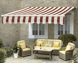 Home Awning Sunjoy Ceylon Manual Operation Awning U0026 Reviews Wayfair