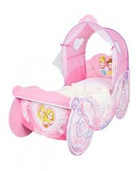 Disney Princess Toddler Bed With Canopy Disney Princess Carriage Feature Toddler Bed