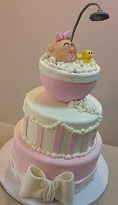 bathtub baby shower duckie baby shower cake pink white adorable