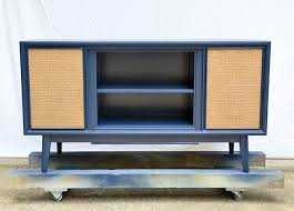 Upcycled Stereo Cabinet Vintage Media Console Update Hearts U0026 Sharts