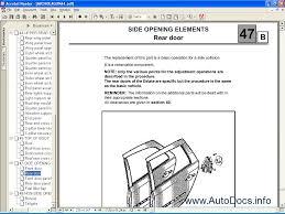 renault scenic repair manual disel 1 9 100 images renault