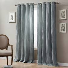 108 Inch Panel Curtains Buy 108 Inch Window Curtain Panel In Blue From Bed Bath U0026 Beyond