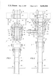 patent us4646844 diverter bop system and method for a bottom