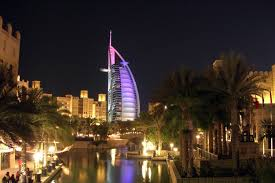half day dubai by night private