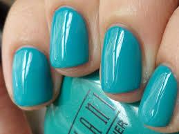 aqua color nail polish nails gallery