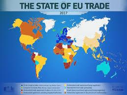 European Union Map by Eu Trade Map Consilium