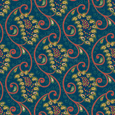 paisley pattern vector seamless vector floral paisley pattern stock vector illustration