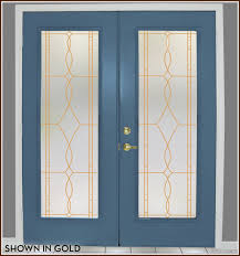 leaded glass french doors allure leaded glass privacy film for windows glass doors
